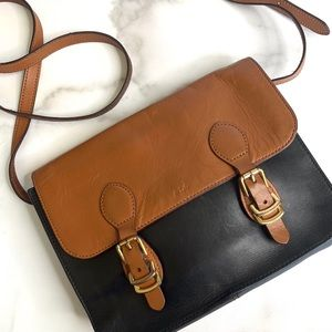 VTG Ralph Lauren Leather Crossbody Sm. Messenger